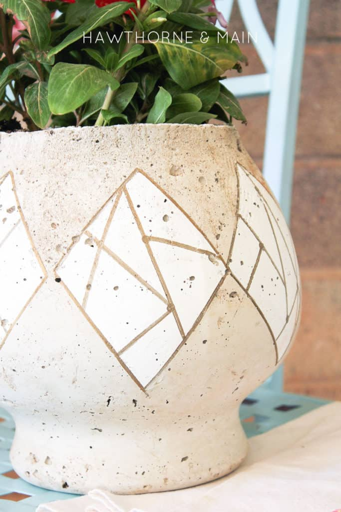 cement+fish+bowl+planter+perfect+for+summer+flowers 4