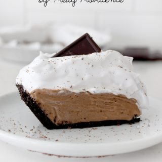 Chocoholics unite! This french silk pie is out of this world delicious! We've never had a Thanksgiving without this staple and best part is, it's so easy to make!