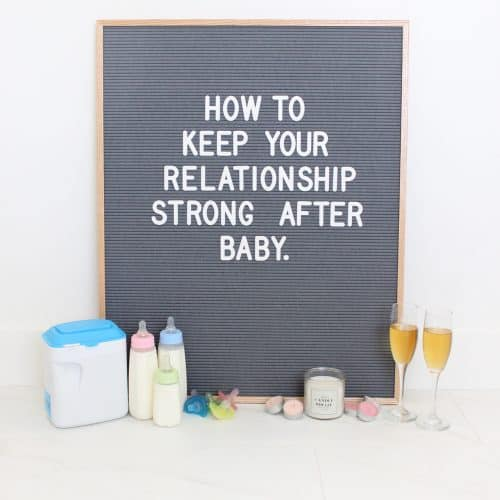 How to Keep Your Marriage Strong after a Baby