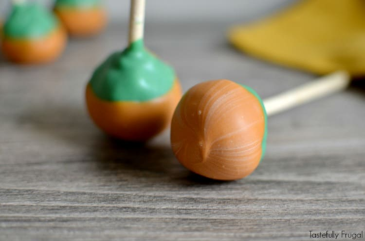 Caramel Apple Cake Pops: A sweet treat without all the mess of sticky caramel