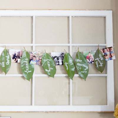 DIY Grateful Garland