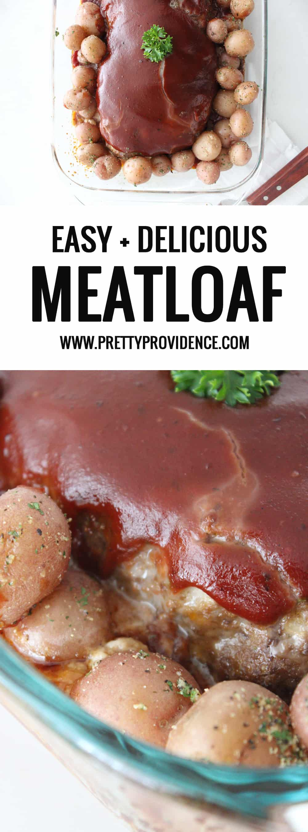 Totally obsessed with this classic meatloaf recipe! It's easy, delicious and always a crowd pleaser!