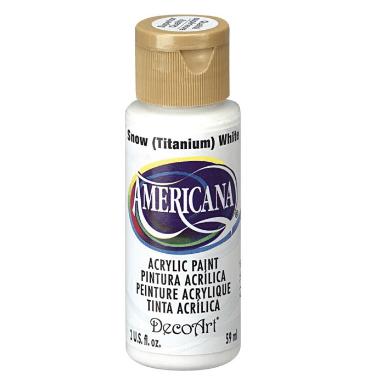 Acrylic White Paint