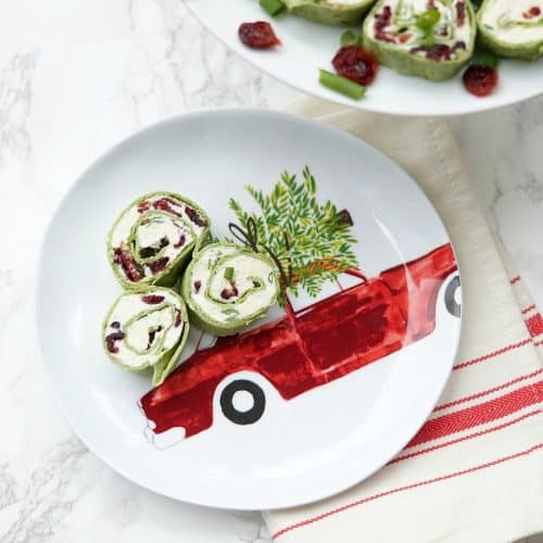 Feta and Cranberry Pinwheels