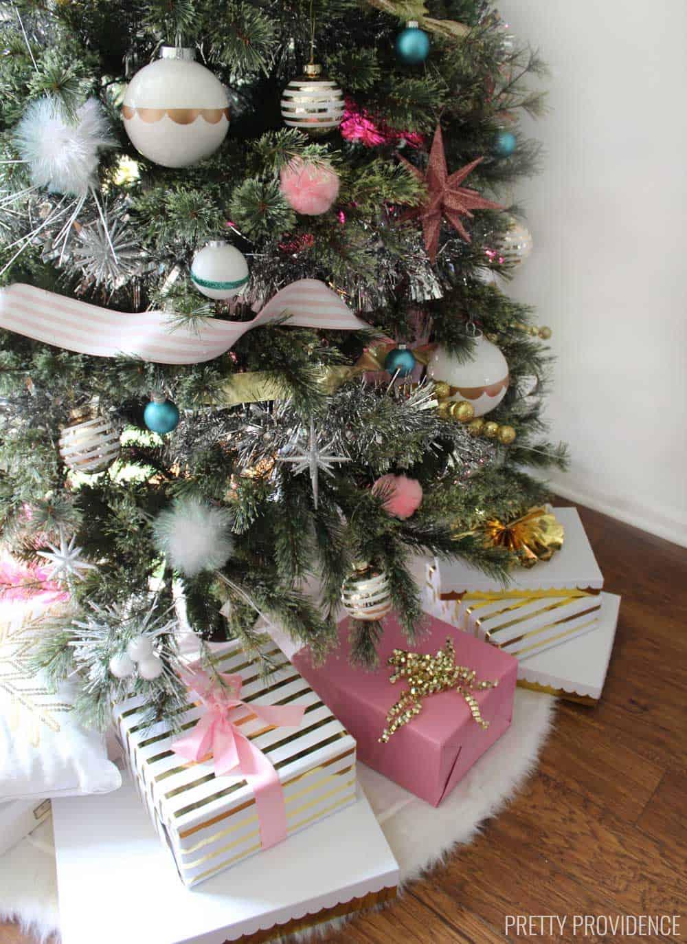 Mid Century Modern Inspired Christmas Tree - Pretty Providence