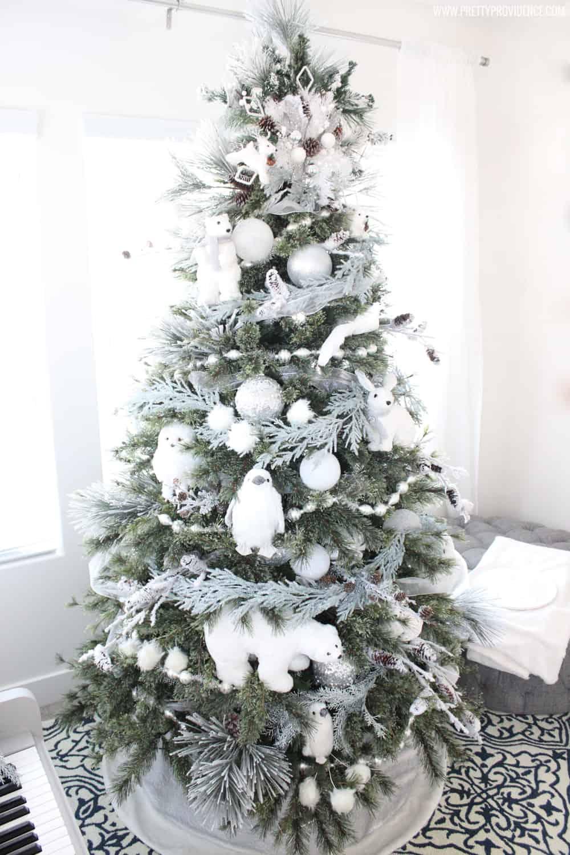 Woodland Creatures Christmas Tree