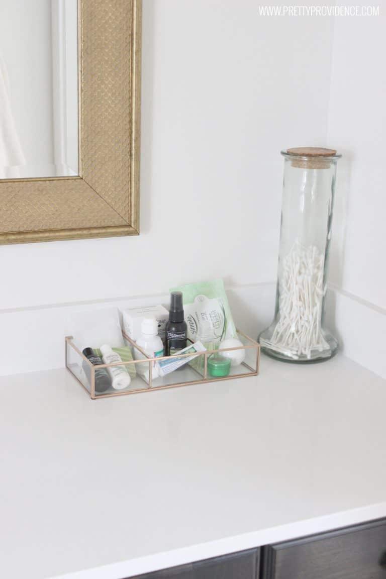 guest bathroom essentials