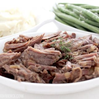 You will love this easy pepsi pot roast! Nothing better than an easy and delicious crock pot meal!
