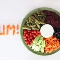 A healthy vegetable dip that is as delicious as it is easy to make!