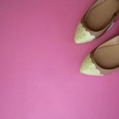Gold Scalloped Flats
