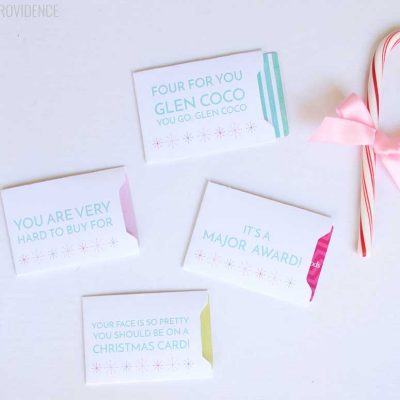 Funny Gift Card Sleeves for Christmas