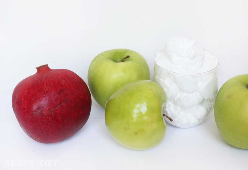 pomegranate-apple-salad-ingredients