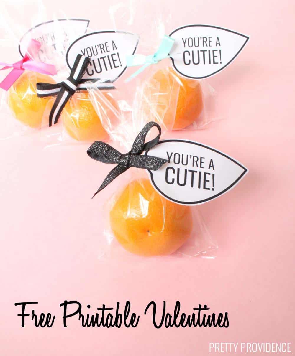 Cutie Oranges Valentine