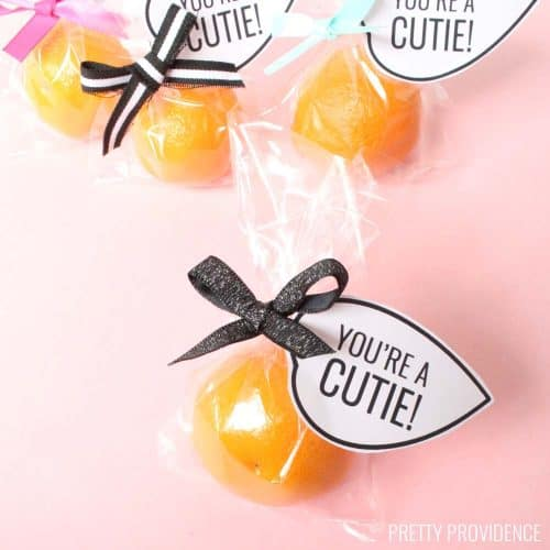 Cutie Valentine Printable