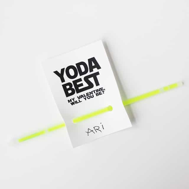 Yoda Valentine from Love and Lion