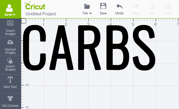 Okay this 'CARBS' bread box is SO FUN! It's ridiculously easy to do too!