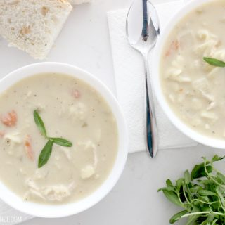 If you like chicken noodle soup then prep for a treat because this recipe is UNBELIEVABLY AMAZING!!! Seriously the best chicken noodle soup I've ever had, and so easy to make!