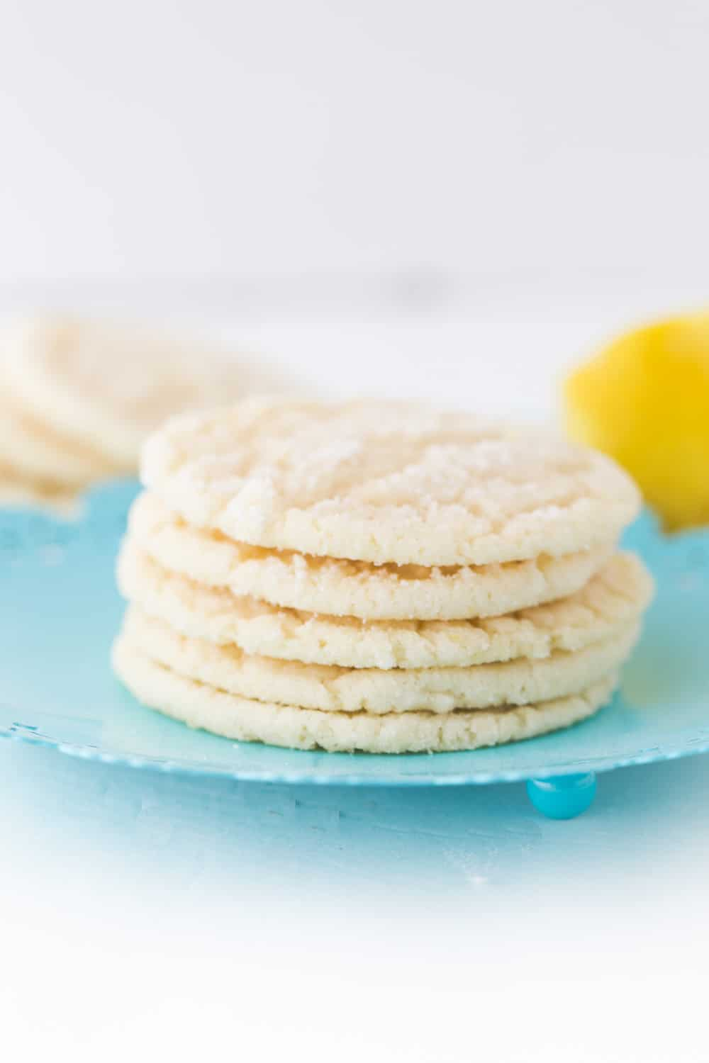 These lemon cookies are delicious and perfect when you want something lemony and sweet!