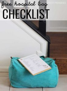 Hospital Bag Checklist!
