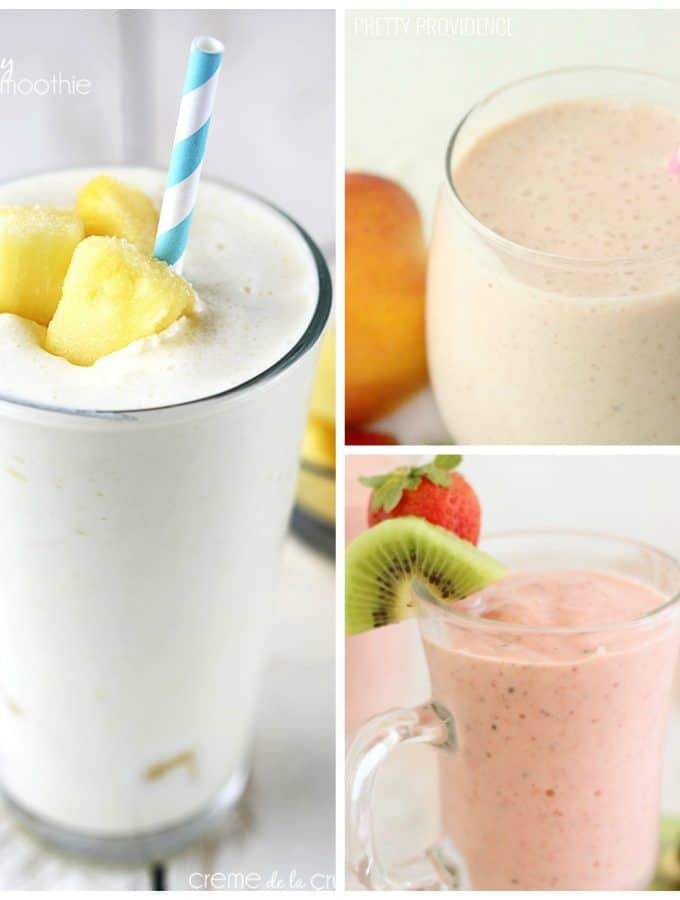 25+ Simple Smoothie Recipes