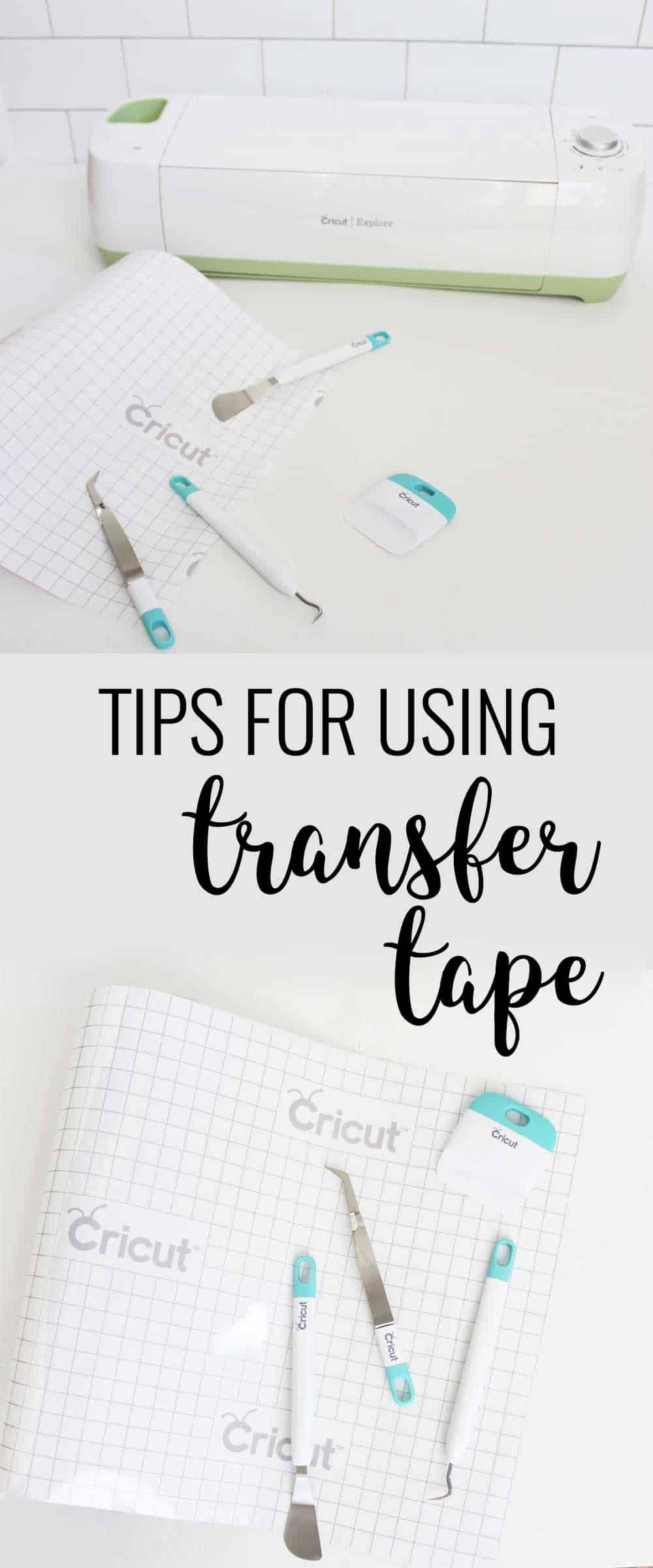 Cricut Transfer Tape