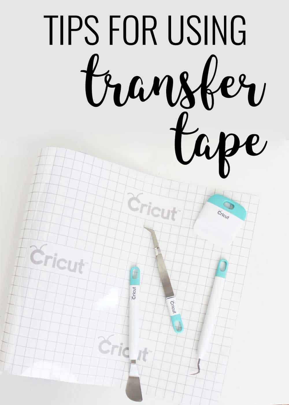 Cricut Transfer Tape for Vinyl