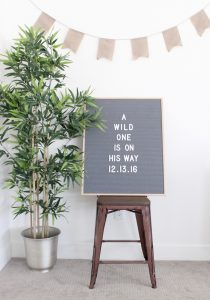I love this literary Where the Wild Things Are baby shower idea!