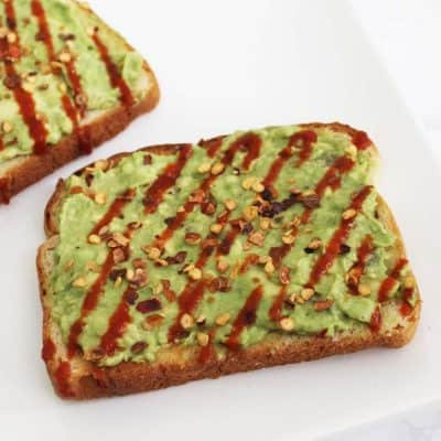 This avocado toast takes 5 minutes to make and is SO good! Easy, delicious and healthy breakfast or snack!!