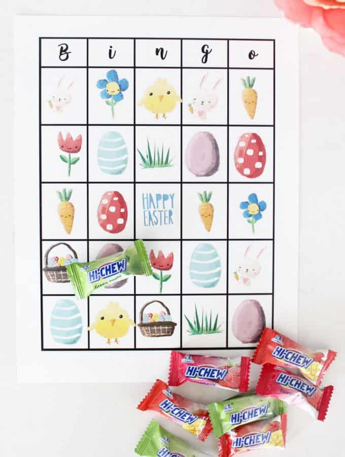 Free Printable Easter Bingo Cards