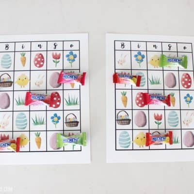 Free Printable Easter Bingo