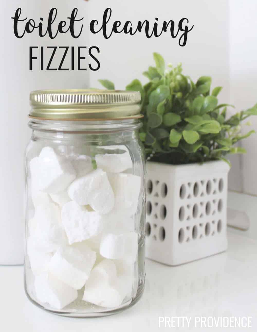 Diy Toilet Cleaning Fizzies Pretty Providence