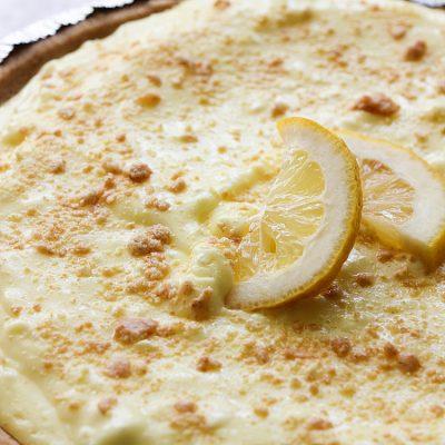 Easy Lemon Pudding Cheesecake