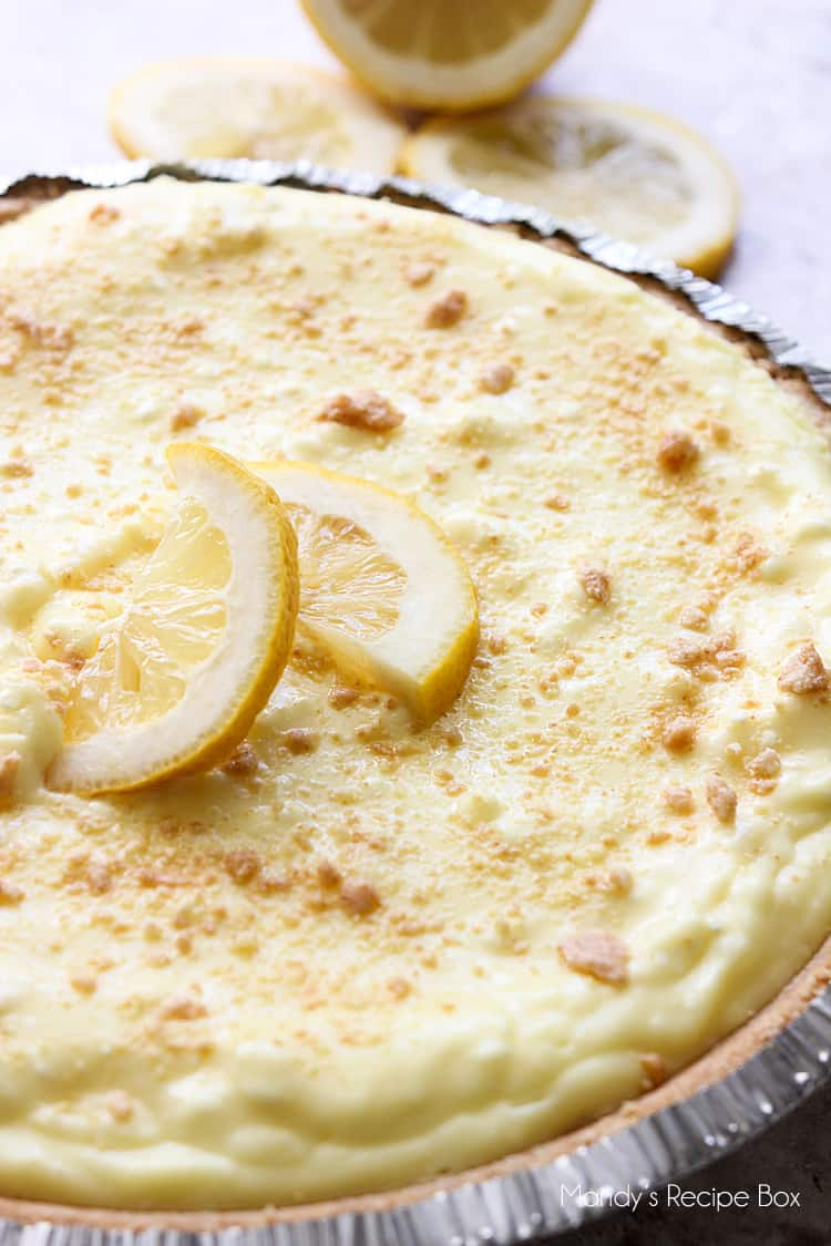 easy lemon pudding cheesecake