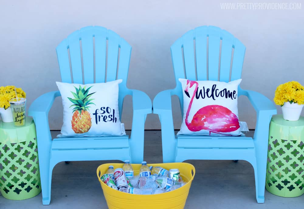 How amazing are these fun summer decor items from Michaels?! I'm obsessed!