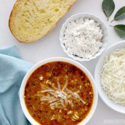 The Best Lasagna Soup