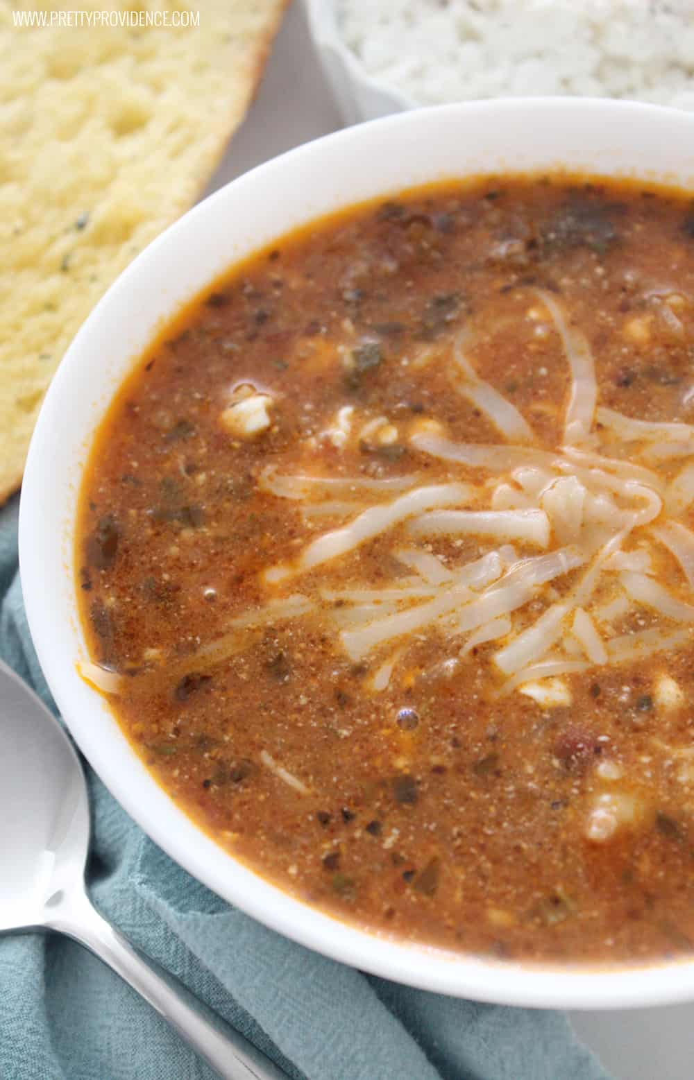 Okay this lasagna soup is freaking amazing! One of our families favorite meals for sure! Hearty, delicious, and feeds a crowd!
