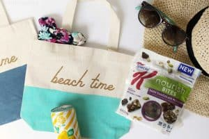 Mini pool bags and what to pack in them to make life easier and cuter this summer!