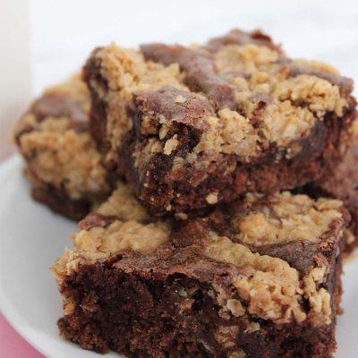 Oatmeal Cookie Brownies