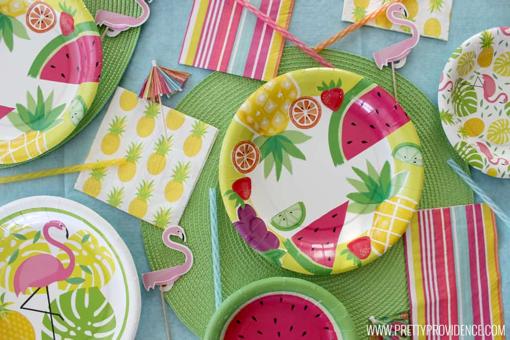How amazing are these fun summer party items from Michaels?! I'm obsessed!