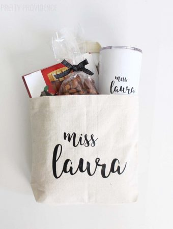 Sweet & Personal Teacher Gift Idea