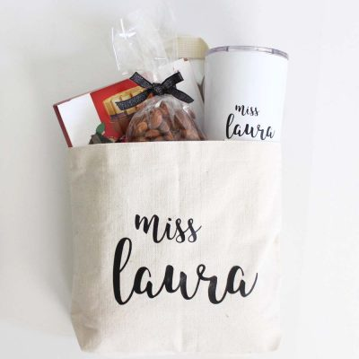 Sweet & Personal Teacher Gift Idea