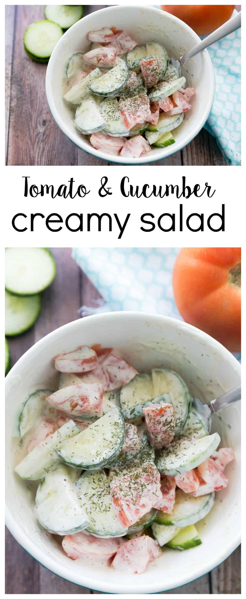 tomato-cucumber-creamy-salad
