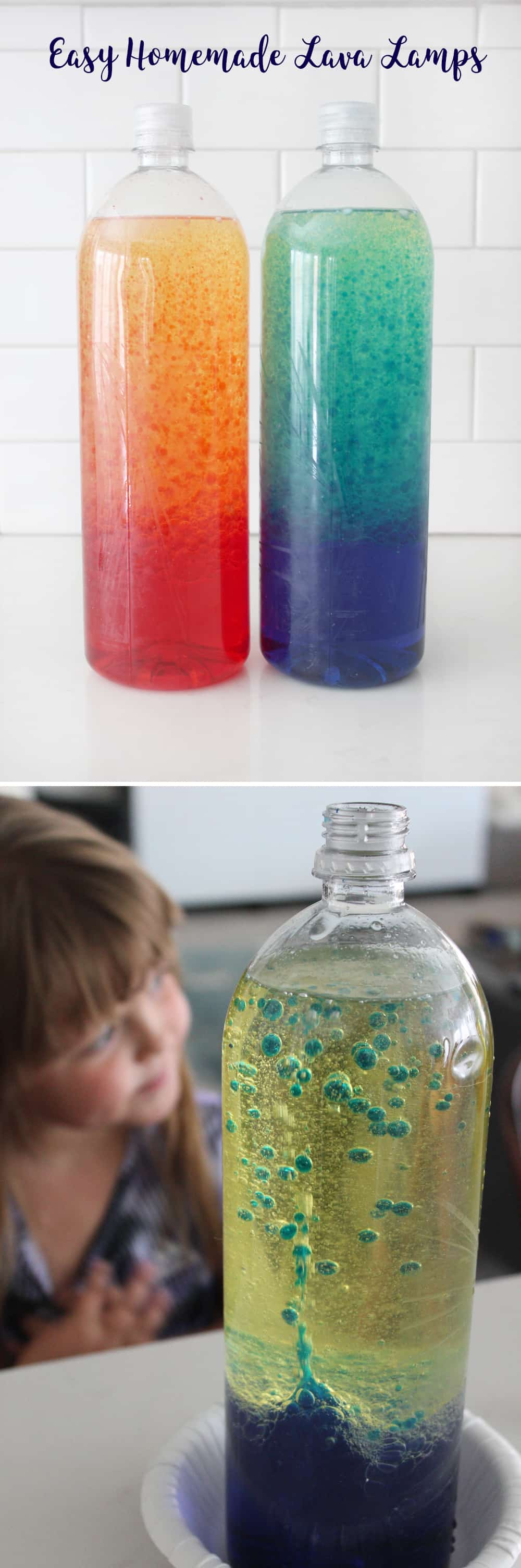 These Homemade Lava Lamps Were Such A Fun Activity With My Kiddos! They Had  So