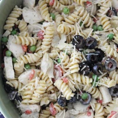 Delicious Summer pasta salad! If you are looking for a delicious, unique and flavorful pasta salad, look no further! Th perfect pasta salad for summer!