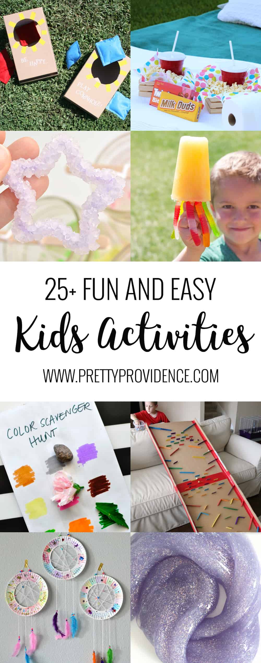 Fun and easy kids activities! Great ideas to keep your kids entertained when they are out of school, etc!