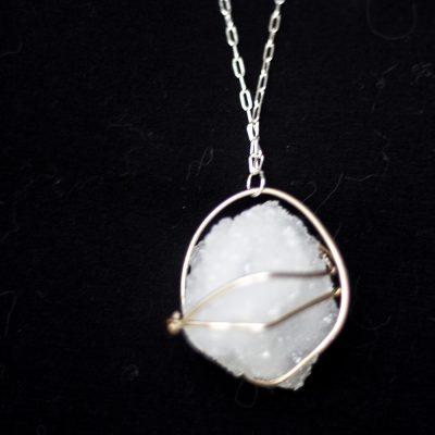 DIY Borax Crystal Necklace