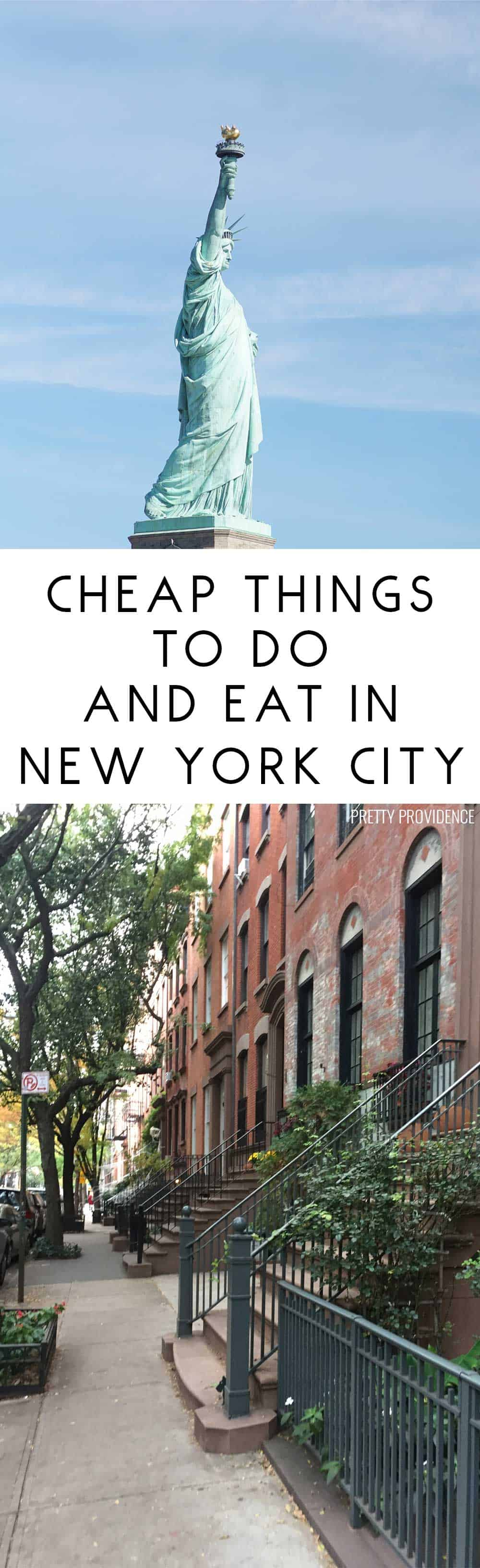 There are some really good, fun ideas in here! Not everything in you do in NYC has to be expensive!