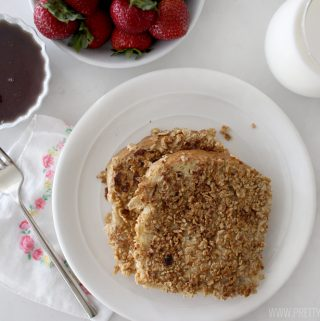 Beyond amazing crunchy french toast!!! If you've never tried it before add it to your list ASAP! Easy and delicious!