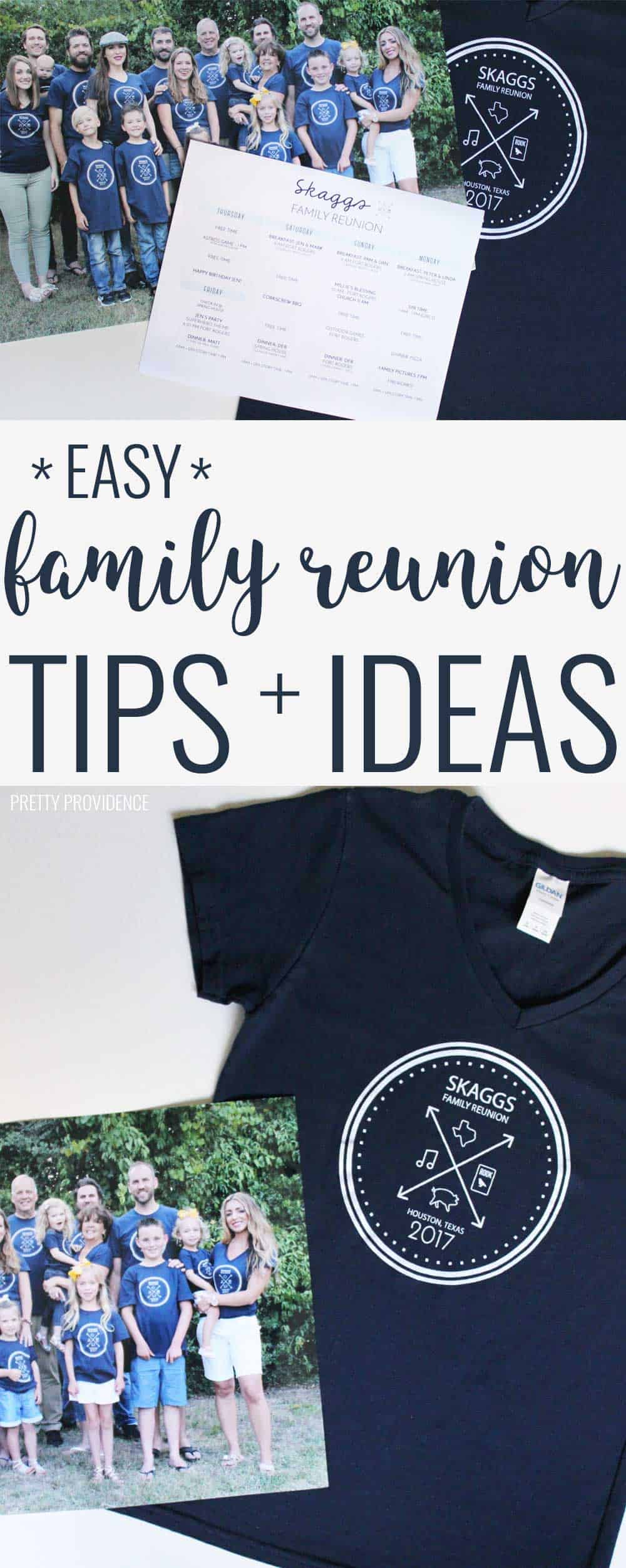 I love these reunion tips and ideas! Lots of practical stuff I wouldn't have thought of