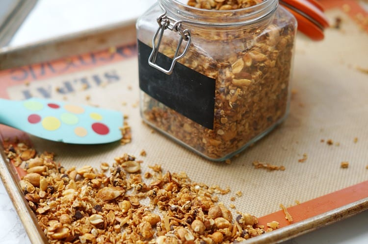 Sweet and Salty Homemade Granola